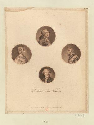 Louis XVI Louis XII ... ; Henri IV ... ; Necker : [estampe]