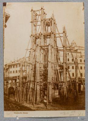 Piazza di Spagna, colonna dell'Immacolata