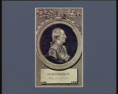 Ferdinand IV König von Sicilien [estampe]