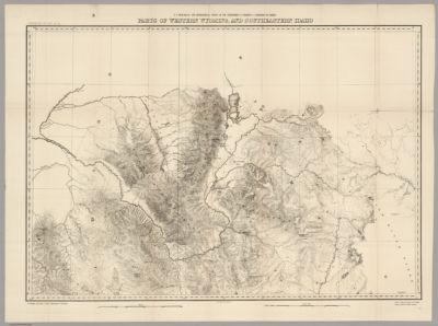 Map of Albany County, with Laramie & Rock River Wyoming ...