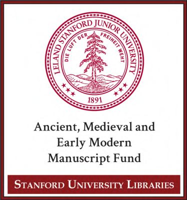 Ancient, Medieval and Early Modern Manuscript Fund