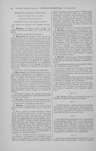 Tome 49 : Du 26 août au 15 septembre 1792 - page 22
