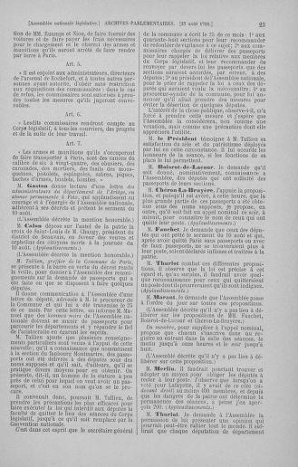 Tome 49 : Du 26 août au 15 septembre 1792 - page 23