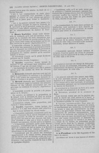 Tome 49 : Du 26 août au 15 septembre 1792 - page 162