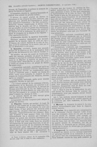 Tome 49 : Du 26 août au 15 septembre 1792 - page 194