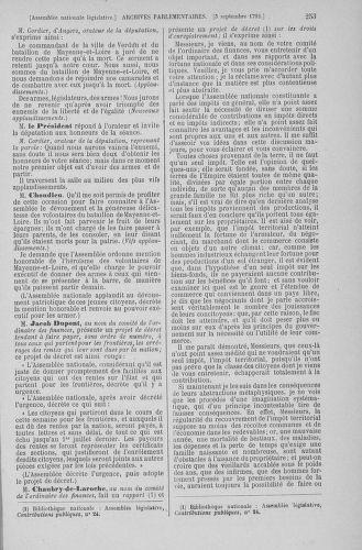 Tome 49 : Du 26 août au 15 septembre 1792 - page 253