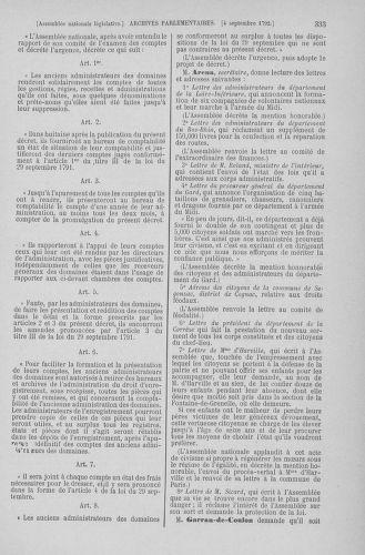 Tome 49 : Du 26 août au 15 septembre 1792 - page 333