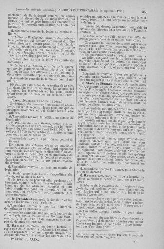 Tome 49 : Du 26 août au 15 septembre 1792 - page 353