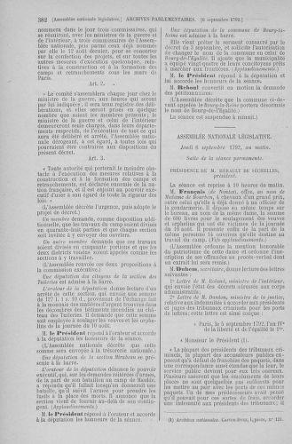 Tome 49 : Du 26 août au 15 septembre 1792 - page 382