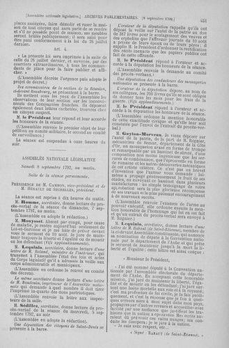 Tome 49 : Du 26 août au 15 septembre 1792 - page 451