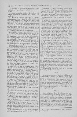 Tome 49 : Du 26 août au 15 septembre 1792 - page 452