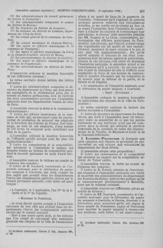 Tome 49 : Du 26 août au 15 septembre 1792 - page 487