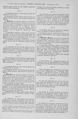 Tome 49 : Du 26 août au 15 septembre 1792 - page 515