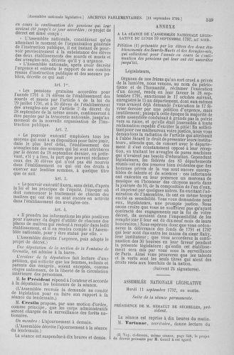 Tome 49 : Du 26 août au 15 septembre 1792 - page 549