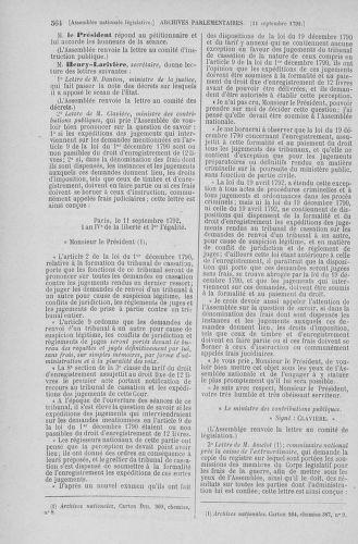 Tome 49 : Du 26 août au 15 septembre 1792 - page 564