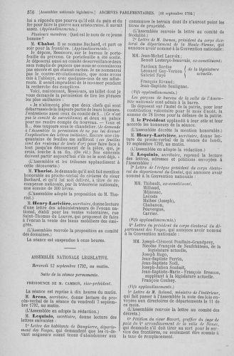 Tome 49 : Du 26 août au 15 septembre 1792 - page 576
