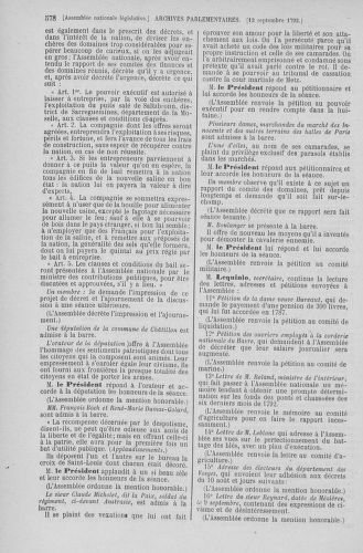 Tome 49 : Du 26 août au 15 septembre 1792 - page 578