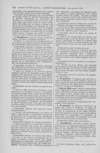 Tome 49 : Du 26 août au 15 septembre 1792 - page 588