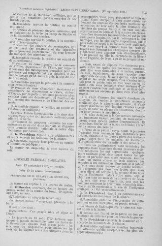 Tome 49 : Du 26 août au 15 septembre 1792 - page 595