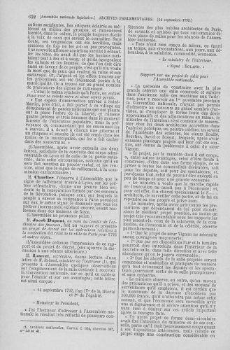 Tome 49 : Du 26 août au 15 septembre 1792 - page 652