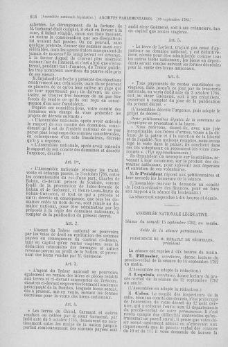 Tome 49 : Du 26 août au 15 septembre 1792 - page 664