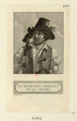 Le  Maréchal ferrant de la Vendée [estampe]