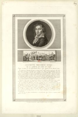 Chaumette procureur syndic de la Commune de Paris en 1793 [estampe]