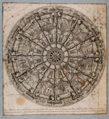 Opus Musivum olim in tholo Templi quod vulgo creditur Bacchi nunc Sancte Costantie extra Portam Piam