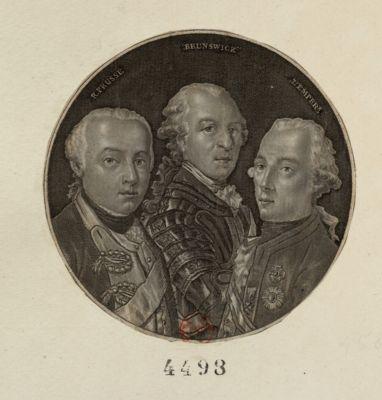 R. Prusse Brunswick l'Emper.r [estampe]