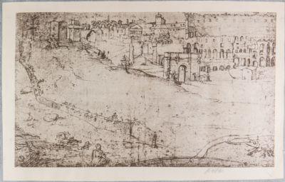 Arco di Costantino, veduta generale della valle