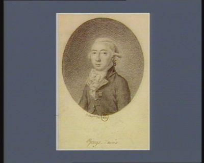 Gouy d'arsis Louis, Marthe, Comte de Gouy D'arsy, L.t Gen.l de l'isle de france ... député de t Domingue à l'assemblée nationale, né à paris, le 15 juillet en 1753 : [dessin]