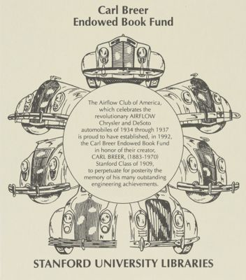 Carl Breer Endowed Book Fund