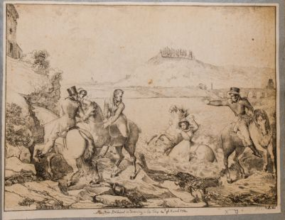Miss Rose Bathurst is drowning in the Tiber 14th of March 1824