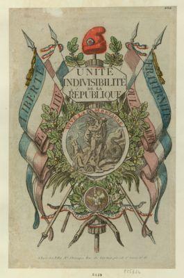 Unité idivisibilité de la République [estampe]