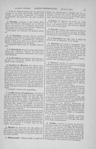 Tome 17 : Du 9 juillet au 12 août 1790 - page 35
