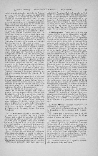 Tome 17 : Du 9 juillet au 12 août 1790 - page 41