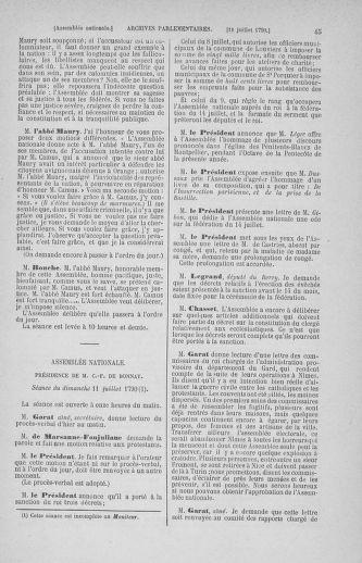 Tome 17 : Du 9 juillet au 12 août 1790 - page 45