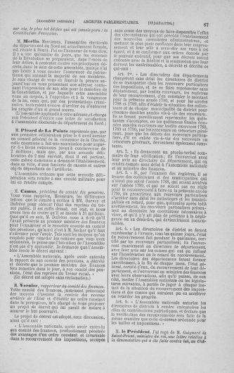 Tome 17 : Du 9 juillet au 12 août 1790 - page 67