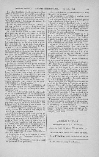 Tome 17 : Du 9 juillet au 12 août 1790 - page 85