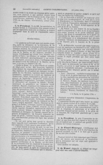 Tome 17 : Du 9 juillet au 12 août 1790 - page 86