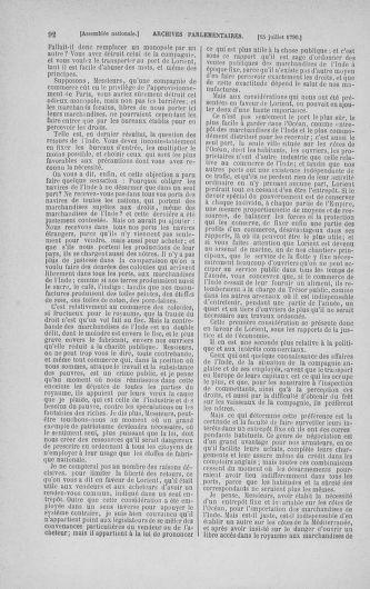 Tome 17 : Du 9 juillet au 12 août 1790 - page 92
