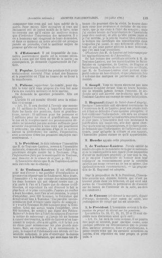 Tome 17 : Du 9 juillet au 12 août 1790 - page 135