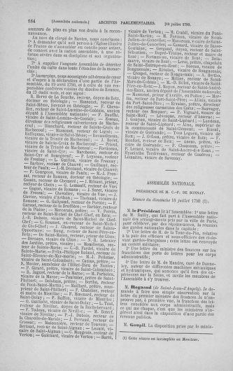 Tome 17 : Du 9 juillet au 12 août 1790 - page 184