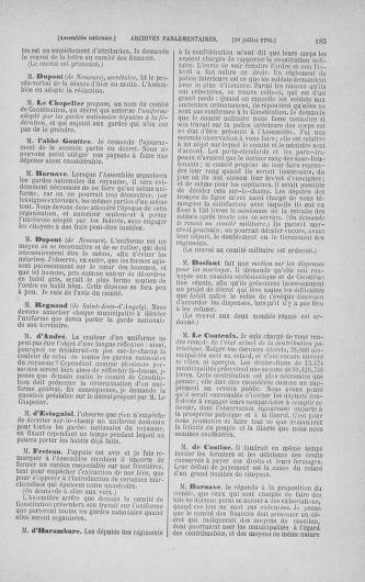 Tome 17 : Du 9 juillet au 12 août 1790 - page 185