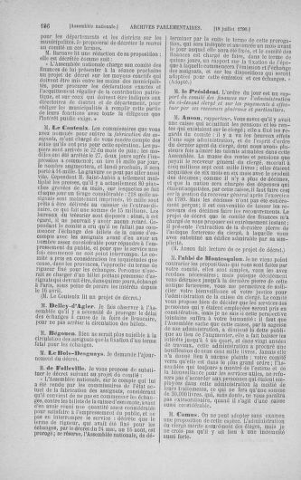 Tome 17 : Du 9 juillet au 12 août 1790 - page 186