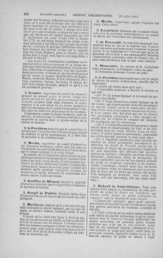 Tome 17 : Du 9 juillet au 12 août 1790 - page 190