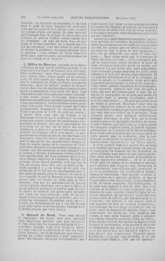 Tome 17 : Du 9 juillet au 12 août 1790 - page 198