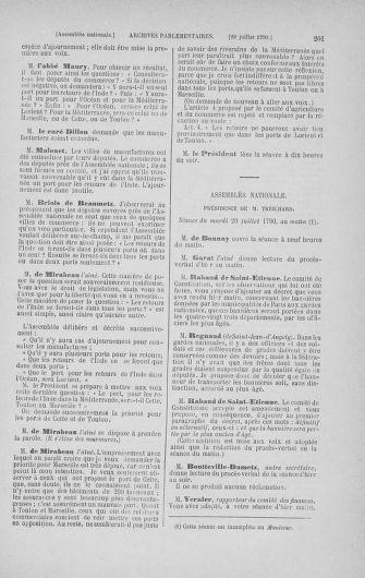 Tome 17 : Du 9 juillet au 12 août 1790 - page 201