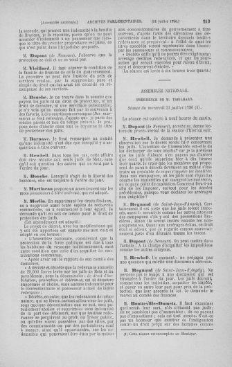 Tome 17 : Du 9 juillet au 12 août 1790 - page 219