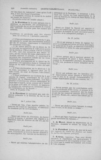 Tome 17 : Du 9 juillet au 12 août 1790 - page 220